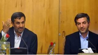 احمدی نژاد - مشایی