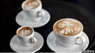 فن قهوة اللاتي