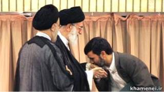 احمدی نژاد، خامنه ای، خاتمی