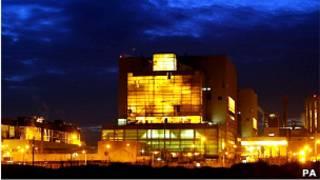 نیروگاه اتمی دانجنس در جنوب شرقی بریتانیا