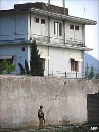 المنزل الذي كان يقيم فيه بن لادن في مدينة أبوت آباد
