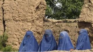 زنان افغان در تخار (عکس از آرشیو)
