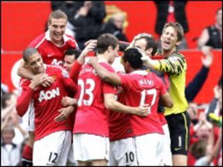 Premier 2011/2012: Man United za ta kara da West Brom