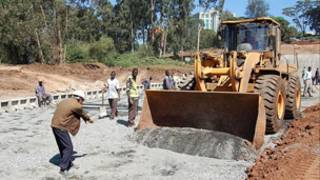 中國公司承建肯尼亞的首條高速公路