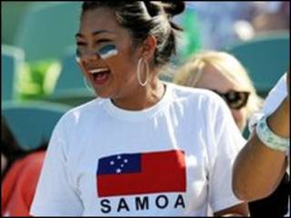 Mulher de Samoa