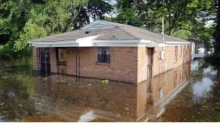 منزل حاصرته المياه في ممفيس