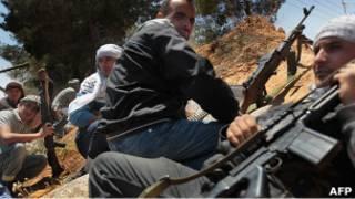 قوات المعارضة الليبية في مصراتة