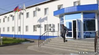 Здание УВД в Кущевской