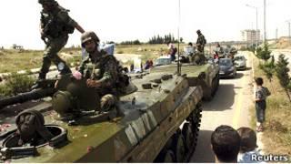 Танки в Сирии