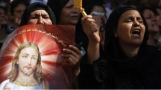 احتجاجات على أحداث القاهرة