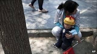 Trẻ em Trung Quốc (hình tư liệu)