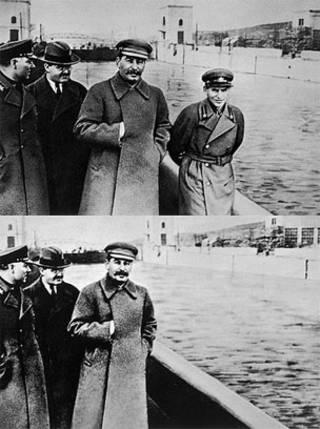 یژوف و استالین