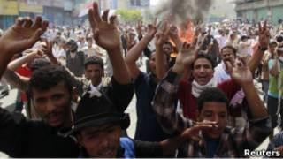 Демонстрация в столице Йемена