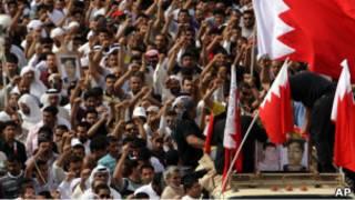 مظاهرات ضد الحكومة في البحرين