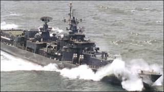 Chiến hạm INS Delhi