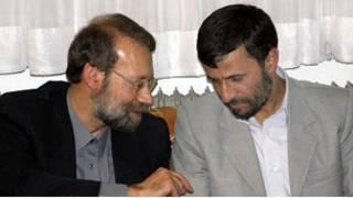 روسای جمهور و مجلس ایران