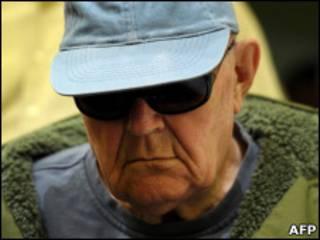 O ex-guarda nazista John Demjanjuk.