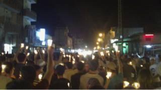 معترضان در سوریه