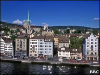 Zurique, na Suíça