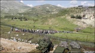 इसराइल  सीमा