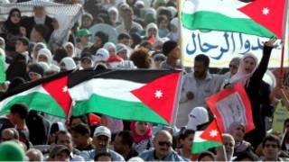 مظاهرات فلسطينية