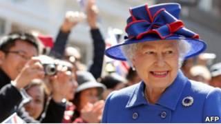 Королева Великобритании Елизавета Вторая