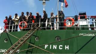 Sebanyak 12 orang berada di kapal MV Finch yang dihadang kapal AL Israel