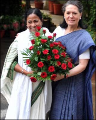 ममता बनर्जी और सोनिया गांधी