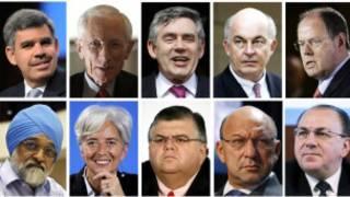 Фото некоторых кандидатов на пост главы МВФ