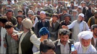 अफ़गानिस्तान में प्रदर्शन