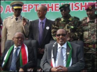 Madaxwaynaha iyo ku xigeenkiisa ee Somaliland