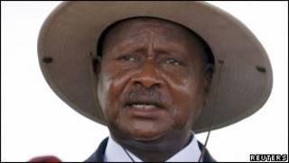 Perezida Yoweri Museveni