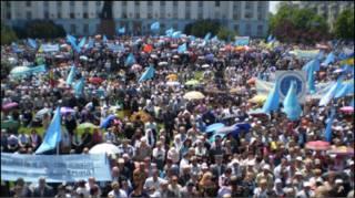 Мітинг у центрі Сімферополя
