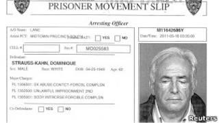 Khan'ın cezaevi belgesi