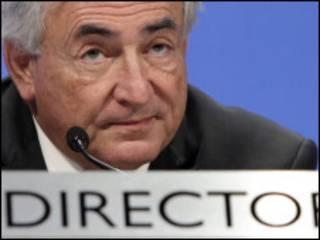Shugaban IMF, Dominique Strauss-Kahn