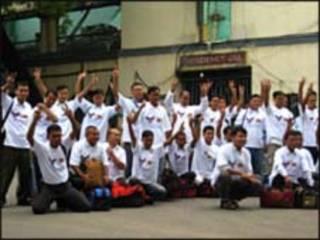 बर्मा के कैदी