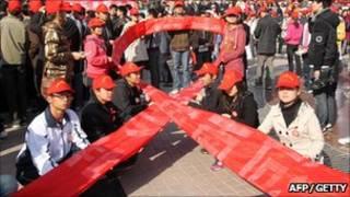 Chiến dịch nâng cao hiểu biết về HIV/Aids ở TQ