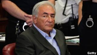 Доминик Стросс-Кан в зале суда 19 мая 2011 года