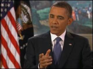 Obama, em entrevista à BBC