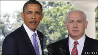 Obama na Netanyahu