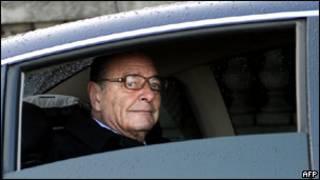 ژاک شیراک، رئیس جمهور سابق فرانسه