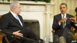 نتنياهو واوباما