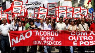 Протести у Португалії