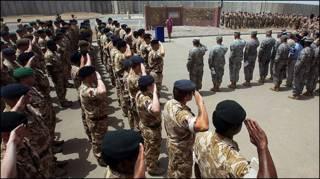 इराक में ब्रितानी सेना