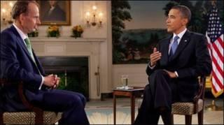 بارک اوباما و بی بی سی  مخبری  اندرو مار