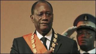 Prezida Alassane Ouattara