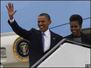 Barack Obama da matarsa Michelle