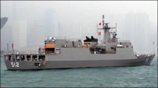 Chiến hạm Narathiwat của hải quân Hoàng gia Thái Lan