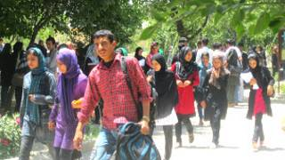 دانشجویان مرکز تربیت معلم سید جمال الدین