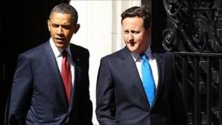 باراک اوباما و دیوید کامرون